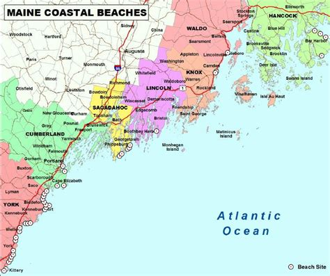 map of maine coast home page www mainecoastdata org