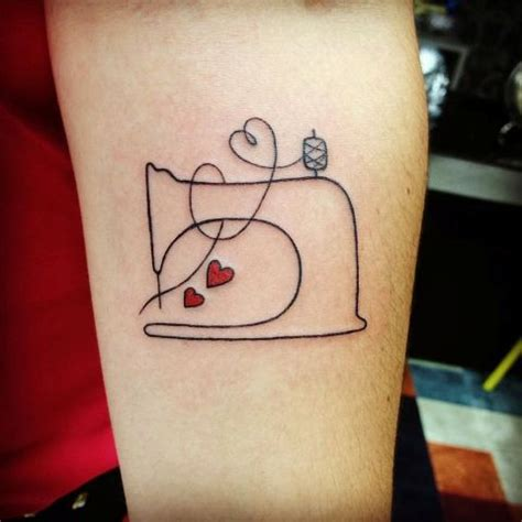 sewing machine tattoo 20 sewing ideas for creative styleoholic