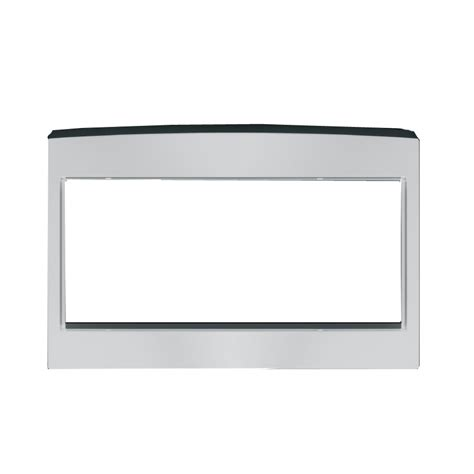 Countertop Microwave Trim Kit by Shop Ge Deluxe Countertop Microwave Trim Kit At Lowes