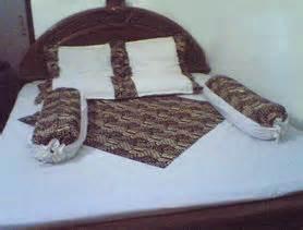 Bedcover Dobel bedcover batik bordir 2 muka sprei batik abdul collections s