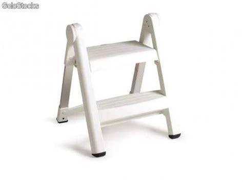 escalera banqueta escalera banqueta 2 pelda 241 os en plastico reforzado y aluminio