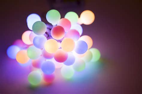 bundle of lights photo of bundle of festive glowing lights