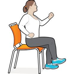 armchair aerobics 8 exercise moves you can do in your chair diabetes forecast 174