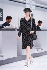Comfort Wedge Sandals Chanel Spring Summer 2016 Ready To Wear Show Takes Off
