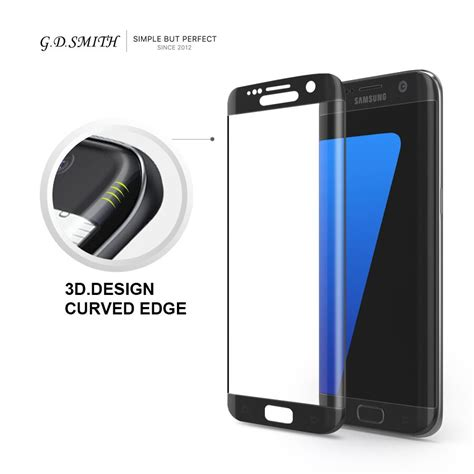 New Tempered Glass Samsung Galaxy S7 Edge g d smith 3d cover tempered glass for samsung galaxy s7 edge safety screen protector