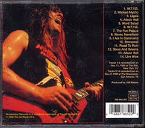 Cd Annihilator annihilator in command live 1989 1990 album cd records