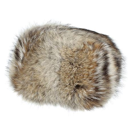 coyote hat zaza coyote fur hat by m 252 hlbauer 499 00