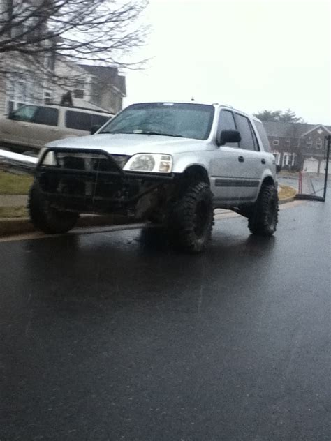 honda truck lifted lifted honda crv 1st generation with custom bumper
