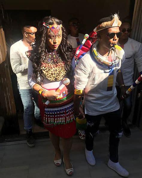 Simphiwe Ngema And Dumi Masilela Celebrate Their Traditional Wedding   People Magazine