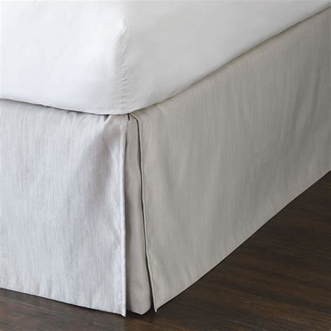 silver bed skirt silver bed skirt more colors cotton standard pillow sham in silver lili
