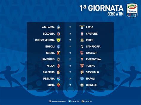 Calendario Serie A Fiorentina Calendario Udinese 2016 2017 Udine 20