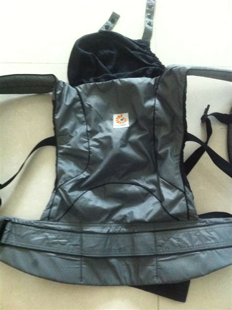 Ergo Ergothe Collection by My Ergo Baby Travel Collection Chic In Graphite