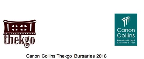 Mba Bursaries 2018 South Africa by Canon Collins Thekgo Undergraduate Postgraduate