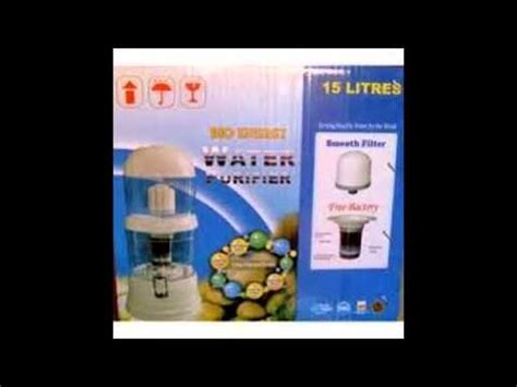 Air Purifier Termurah bio energy mineral water pot purifier 15 liter 081220779603