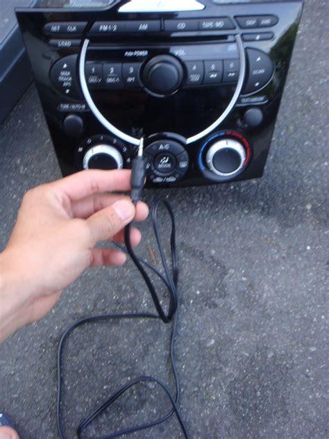 mazda rx 8 aux input adapter diy radio removal add an aux input page 6 rx8club