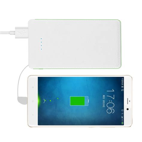 Power Bank Slim slim power bank 8000mah portable power bank charger