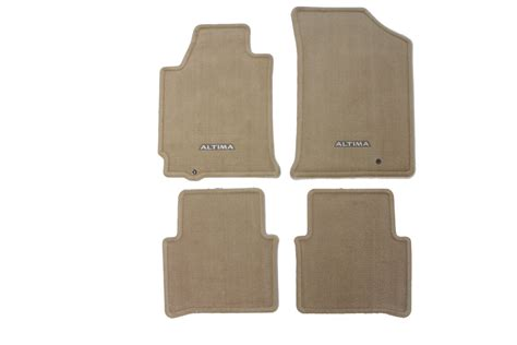 Nissan Altima Floor Mats 2013 by Genuine Nissan Carpeted Floor Mats Beige 2010 2013 Altima Coupe Sedan Hybrid Nissan Race Shop