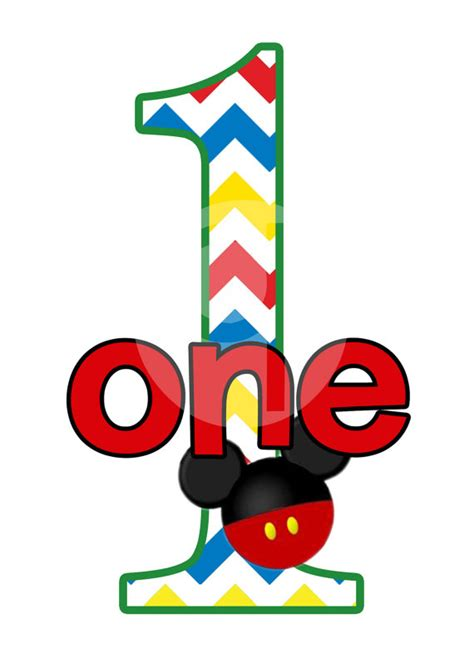 You And Me Pacifier Clip Mickey Happy mickey mouse 1st birthday clip 82