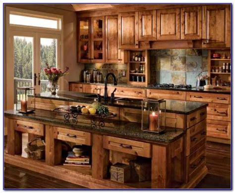 rustic kitchen cabinet ideas rustic kitchen cabinets pinterest kitchen set home