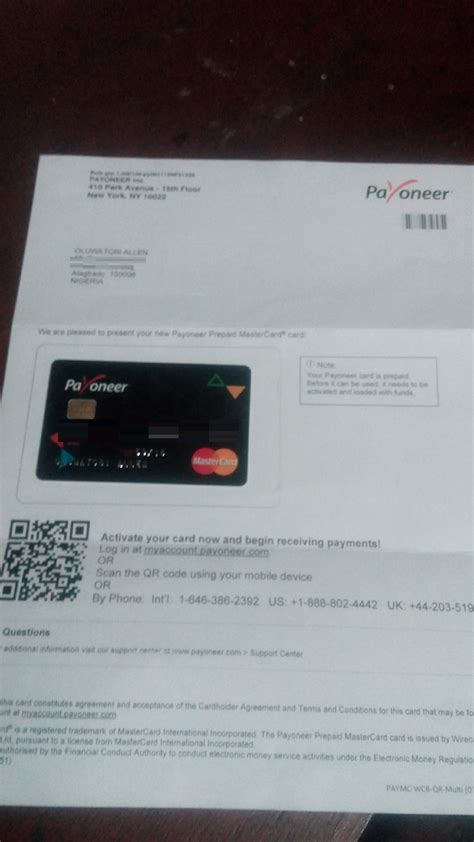 get us bank account how to open payoneer account and get us mastercard in