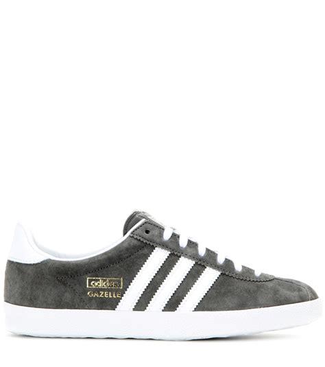 Adidas Gazelle Suede Grey adidas originals gazelle og suede sneakers in gray lyst