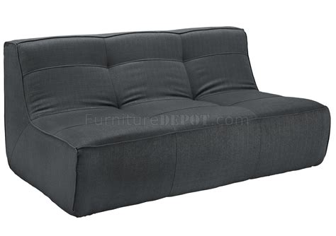charcoal sofa set align 5pc sectional sofa set in charcoal fabric by modway