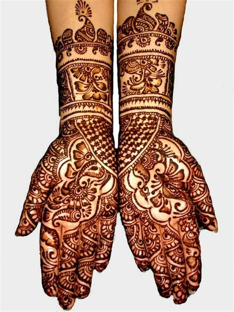 bridal henna tattoo mehndi wedding design february 2012