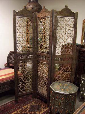 moroccan room divider moroccan room divider with iron filigree designs