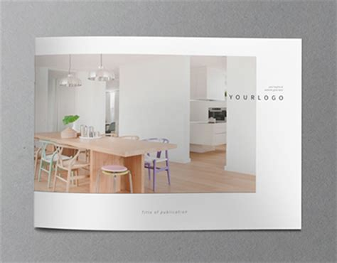 minimal interior design catalog by abradesign dribbble minimal interior design brochure on behance