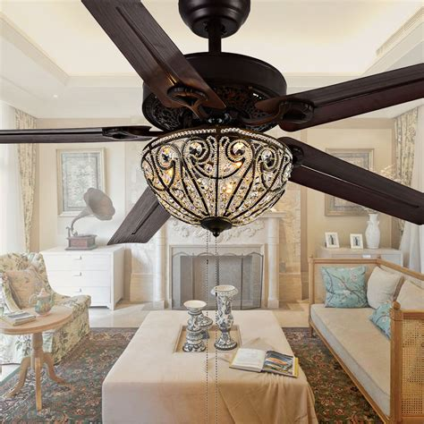 Led Decorative Ceiling Fan Lights 4810 48 Inch Pull Chain Ceiling Decorative Lights