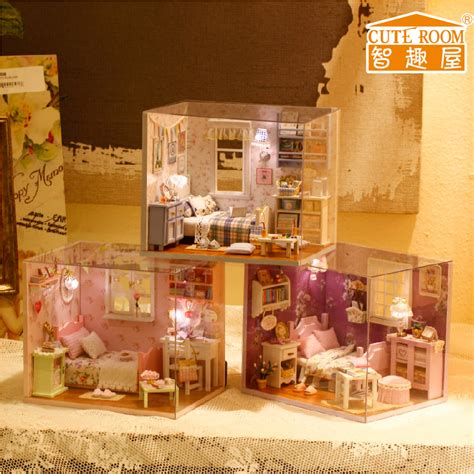 Handcrafted Doll Houses - house furniture dollhouse handmade wooden doll house