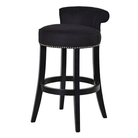 Bar Stool Black by Boutique Black Bar Stool