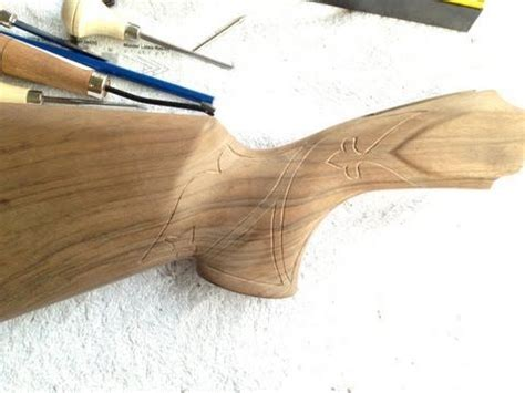 pattern stock midwayusa 17 best images about carving gun stocks on pinterest