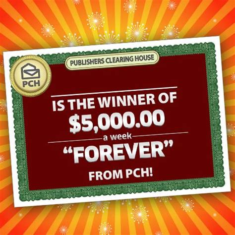 Publishers Clearing House Forever Prize - find out who won the february 27th forever prize from pch pch blog