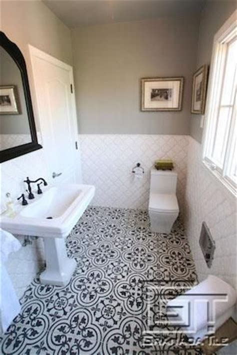 spanish tile bathroom ideas 25 best ideas about cement tiles bathroom on pinterest