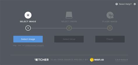 make bootable sd card etcher a beauitiful app to create bootable sd card or