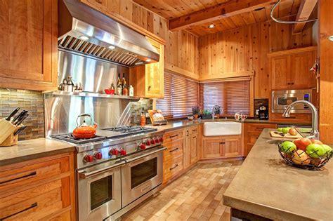 rustic cedar kitchen cabinets photos jackson design remodeling hgtv