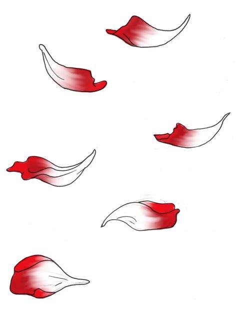 Falling Petals Drawing petals 1 by amorrahwolfmoon on deviantart