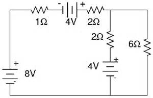 power supplied to each resistor for the circuit shown below find the current in chegg