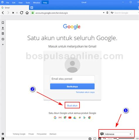 email gmail indonesia cara buat email gmail baru isi pulsa online