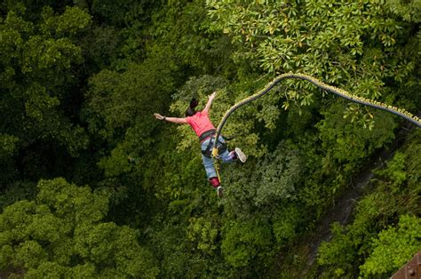 best bungee jumping best places to bungee jumping in india