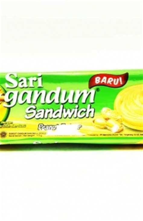 Roma Sari Gandum Sandwich 1 Pcs daftar produk biskuit coklat snack permen superstore