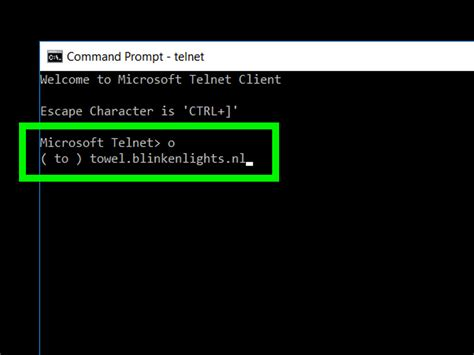 telnet command how to wars on command prompt 10 steps with