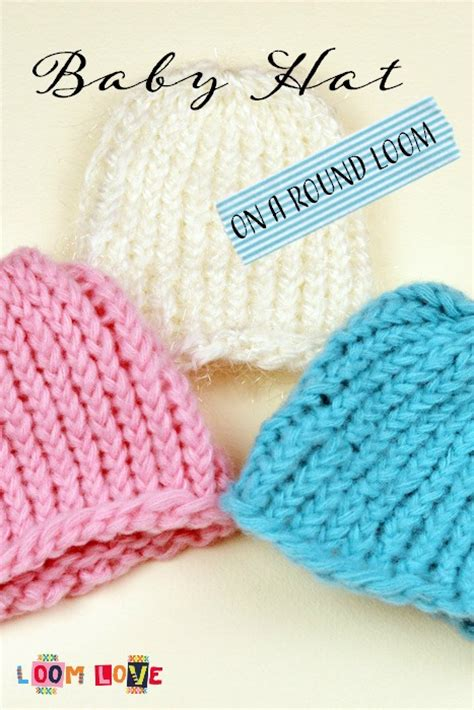 how to loom knit a baby hat how to knit a baby hat on a loom
