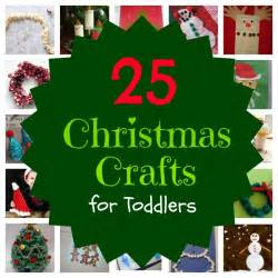 25 christmas crafts for toddlers babble