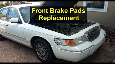 automobile air conditioning repair 2003 mercury grand marquis engine control front brake pads replacement on mercury grand marquis votd youtube