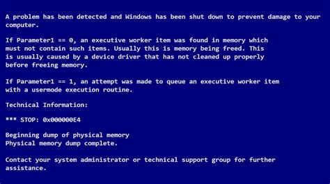 how to correct errors in the wallpaper one decor what does the worker invalid bsod error mean in windows 8
