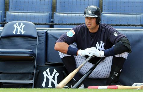 alex rodriguez bench press yankees joe girardi carlos beltran s health keeping a rod on bench 171 cbs new york