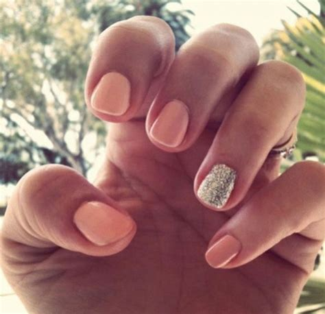 one finger nail different color pictures nail trend ombre one nail glitter odd one out