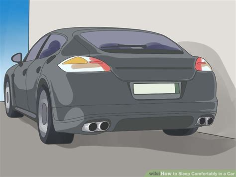 how to sleep comfortably in a car how to sleep comfortably in a car with pictures wikihow